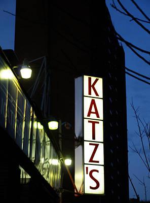 Photograph - Katz's Delicatessen by Mary Capriole