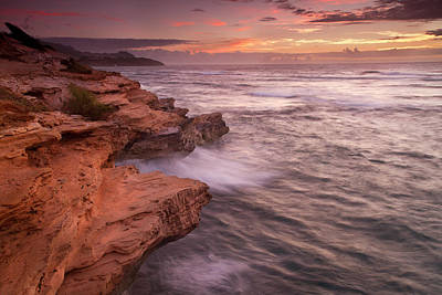 Mahaulepu Beach Photograph - Kauai Morning by Roger Mullenhour