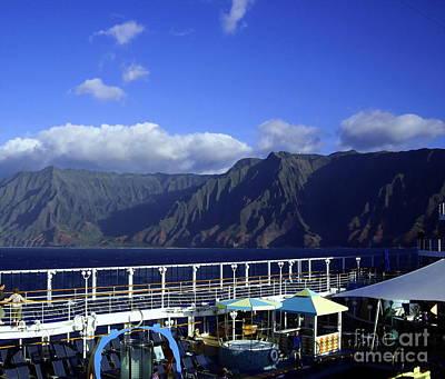 Kawai Photograph - Kauai Napali Coastline Cruise 2 by Carol Komassa