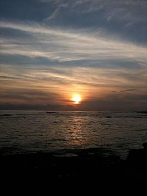 Art Print featuring the photograph Kauai Sunset by Carol Sweetwood
