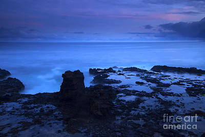 Hawaii Photograph - Kauai Twilight by Mike  Dawson