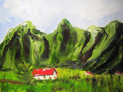 Painting - Kaui Hawaii by Jenell Richards