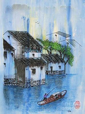 Painting - Kawa Wa Nagareru Yo Ni by Roberto Prusso