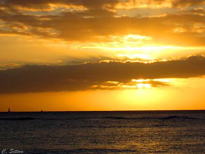Photograph - Kawaii Sunset by C Sitton
