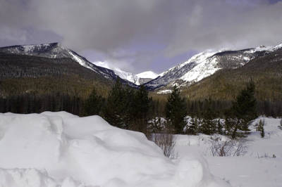 Photograph - Kawuneeche Valley - Rocky Mountain National Park by Ellen Heaverlo