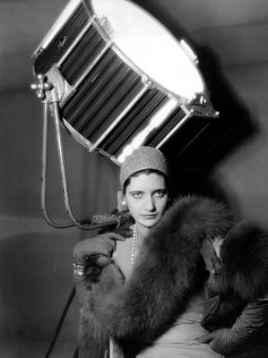 Fur Stole Photograph - Kay Francis Around 1930 by Everett
