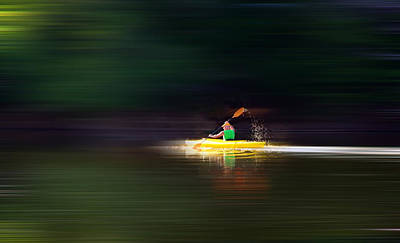 Kayak Ks Art Print by Brian Duram