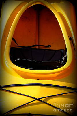Kayak Photograph - Kayak-series-5 by Nancy Harrison