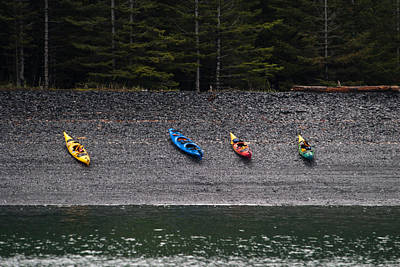 Photograph - Kayak Shore by Jason Smith
