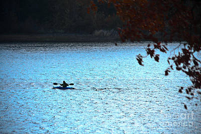Photograph - Kayaking  by Kim Henderson