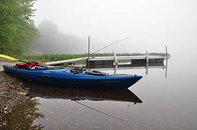 Photograph - Kayaking Morning by Glenn Gordon