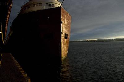 Merchant Mariners Photograph - Kaye Barker by Tim  Telep