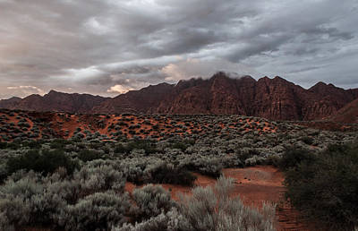 Photograph - Kayenta Sunset 2 by Chris Fullmer