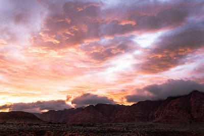 Photograph - Kayenta Sunset 4 by Chris Fullmer