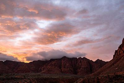 Photograph - Kayenta Sunset 5 by Chris Fullmer