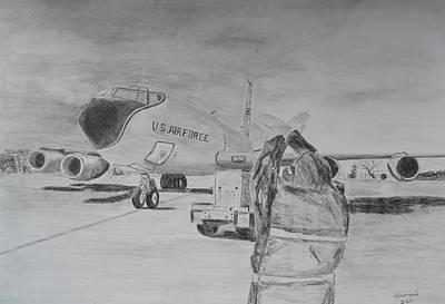Kc-135 Study Art Print