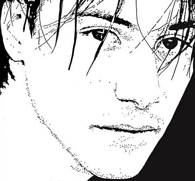 Keanu Reeves 2 Art Print