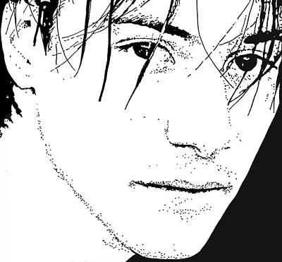 Keanu Reeves 2 Art Print by Lori Jackson