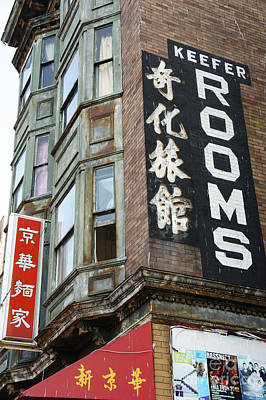Photograph - Keefer Rooms Vancouver Chinatown by John  Mitchell