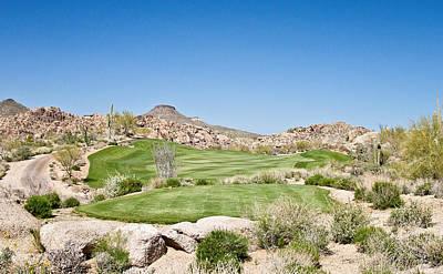 Arizona Golfer Photograph - Keep It In The Short Grass by Scott Pellegrin