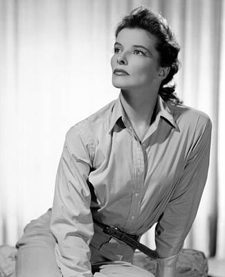 Films By George Cukor Photograph - Keeper Of The Flame, Katharine Hepburn by Everett