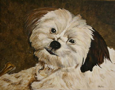 Painting - Keisha by Betty-Anne McDonald