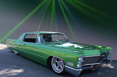 Kelly Caddy Art Print by Bill Dutting