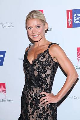 Kelly Ripa At Arrivals For 27th Annual Art Print by Everett