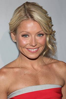 Kelly Ripa At Arrivals For The Point Print by Everett