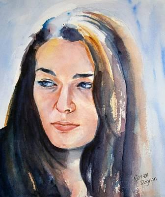 Kelsey Art Print by Brian Degnon