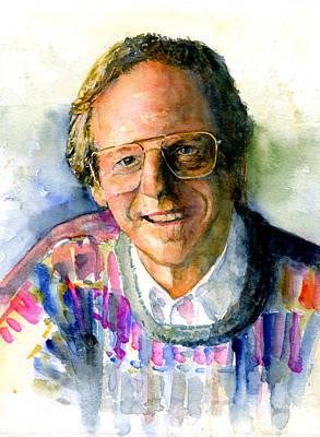 Painting - Ken Kragen by John D Benson