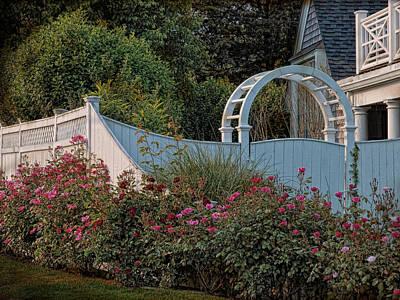 Kennedy Cottage Roses Art Print