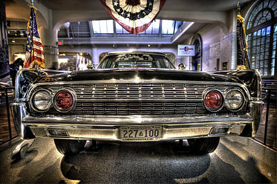 Photograph - Kennedy Limo by Nicholas  Grunas