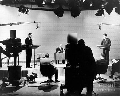 Kennedy/nixon Debate, 1960 Art Print