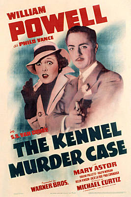 Kennel Murder Case, The, Mary Astor Print by Everett