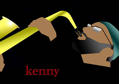 Mile Digital Art - Kenny Garrett by Victor Bailey