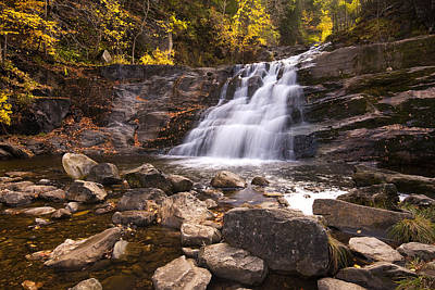 Kent Falls Photograph - Kent Falls In Autumn by Stephanie McDowell