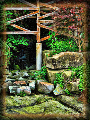 Photograph - Kent Hidden Garden by Joan  Minchak