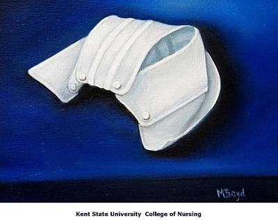 Painting - Kent State University College Of Nursing by Marlyn Boyd