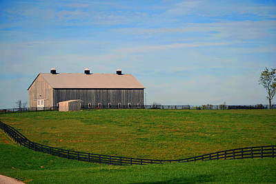 Kentucky Barn Art Print
