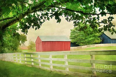 Kentucky Country Side Art Print by Darren Fisher