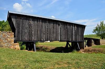 Photograph - Kentucky Covered Bridge by Mark Bowmer