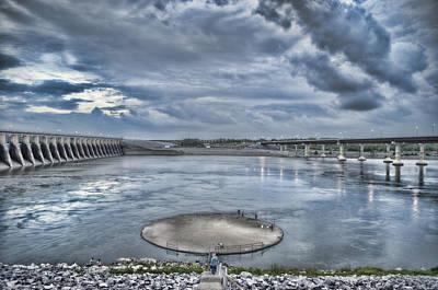 Kentucky Dam Dusk Art Print by Jim Pearson