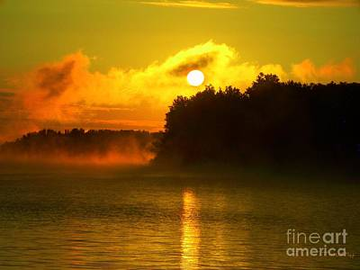 Photograph - Kentucky Lake Dawn by Greg Moores