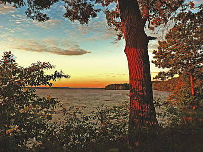 Art Print featuring the photograph Kentucky Lake Sunrise by William Fields