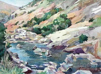 Painting - Kern River by Natalia Eremeyeva Duarte
