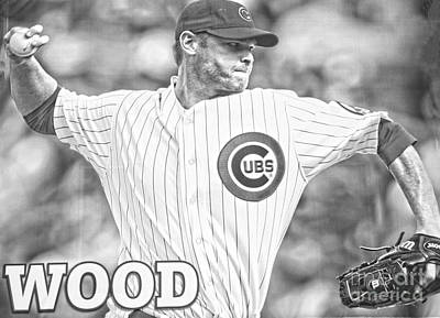 Photograph - Kerry Wood by David Bearden