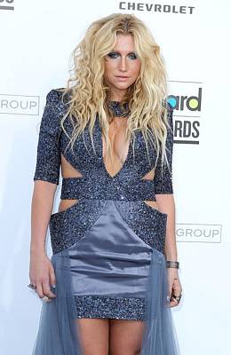 Mora Photograph - Kesha At Arrivals For 2011 Billboard by Everett