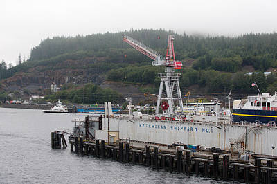 Photograph - Ketchikan Ship Yard by Gary Rose
