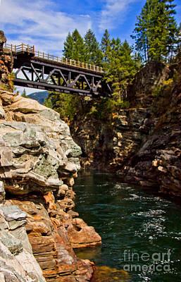 Bridge Photograph - Kettle River by Nancy Harrison
